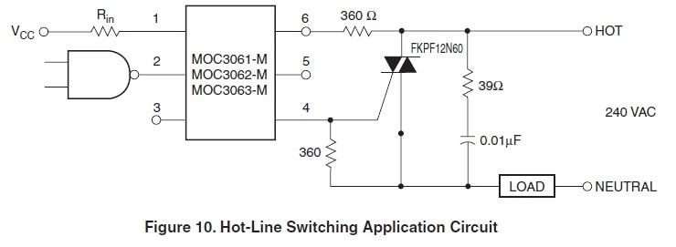 Re: Управление нагрузкой MOC3061 + BTA16.