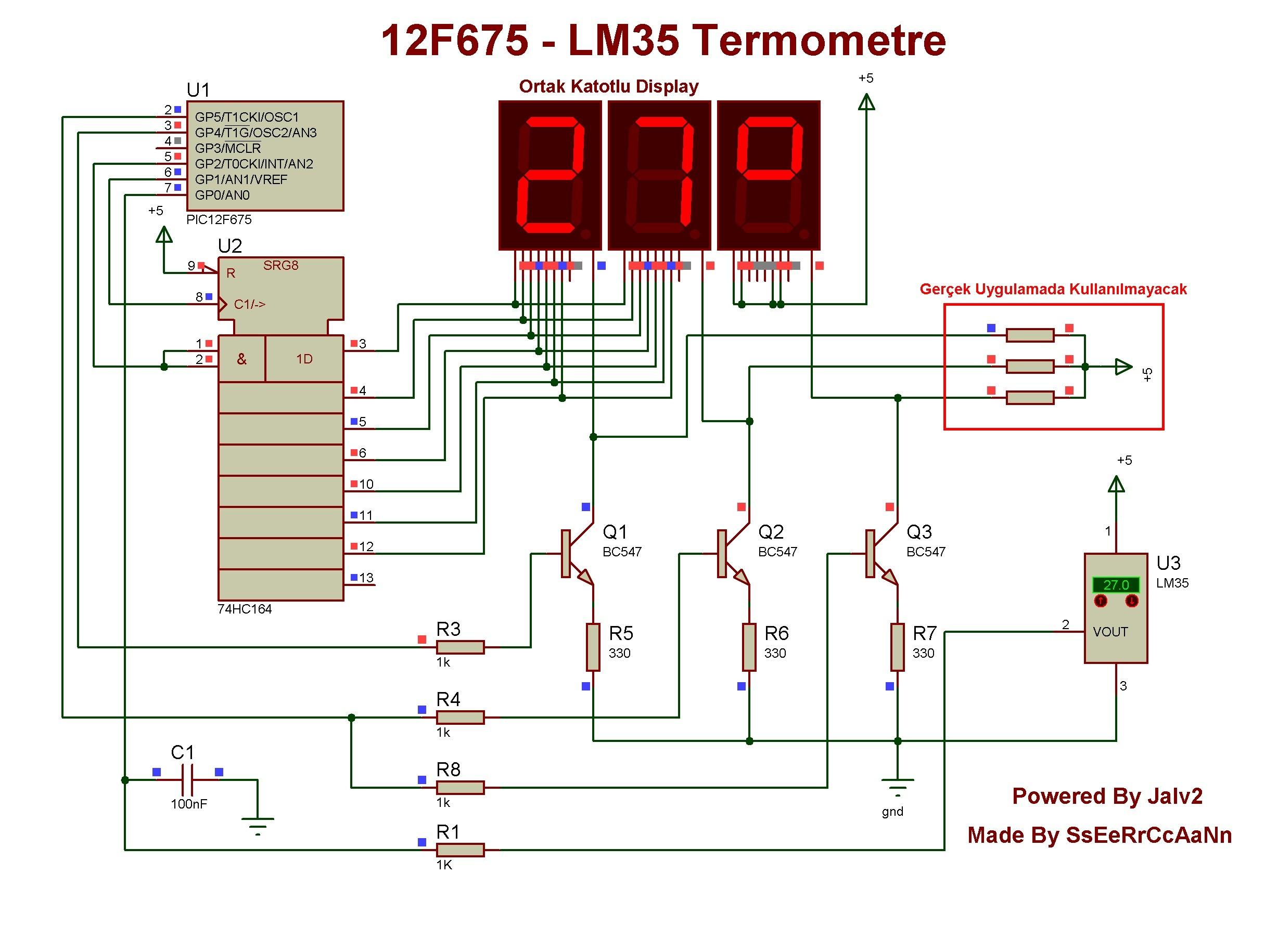 Термометр на lm35 своими руками